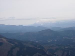 20070225三坂山頂から大山