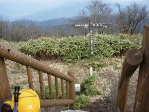 20070304滝山山頂