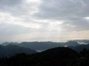 20061224天狗山山頂からの眺め
