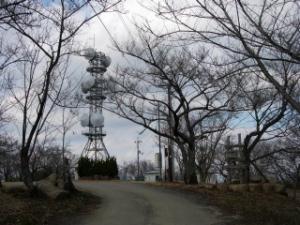 20070211本宮高倉山山頂鉄塔