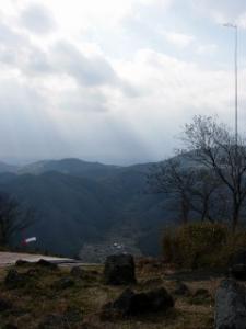 20070211山頂テイクオフ