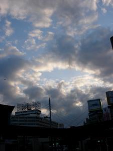 ドーナツ雲