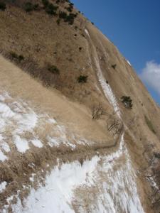 20070318三平山への稜線