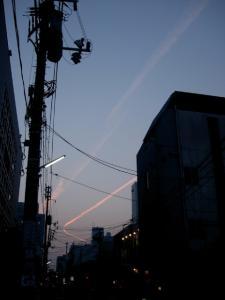 200703夕景-幸町