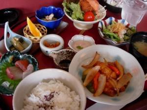 20070606旬彩菜の花ランチ