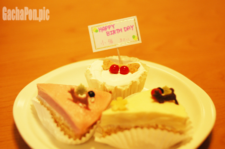 バースデイケーキ♪