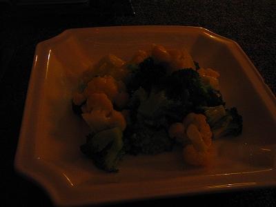 ブロッコリーの炒め物