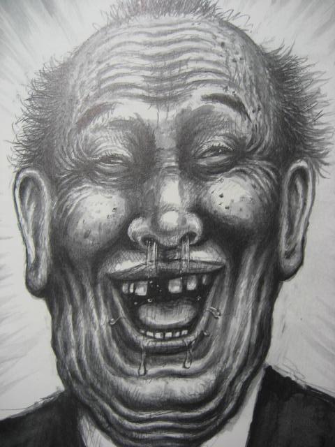 顔の濃いおじさんの漫画太郎画像