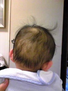髪の毛はねまくり