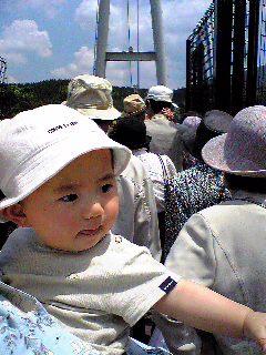 九重大吊橋は大混雑!