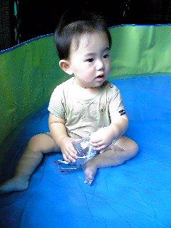 水遊び大スキ