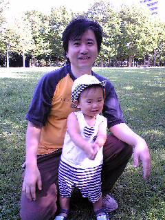 パパと一緒に東公園