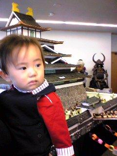 学園祭:お菓子の福岡城前