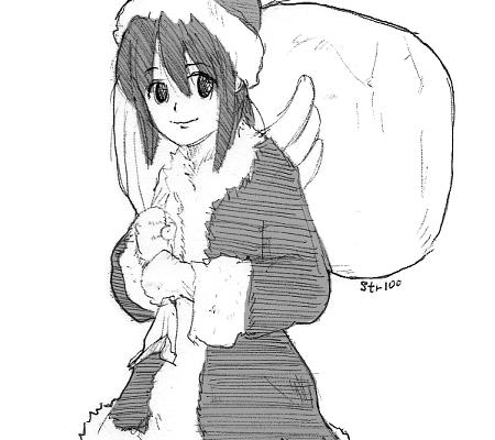 クリスマスまぁちゃん