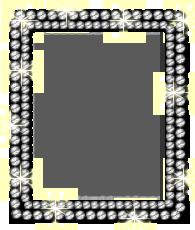 ダイヤモンド写真フレーム