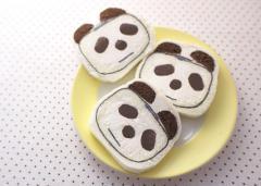 フェリシモオリジナル 白パンダ
