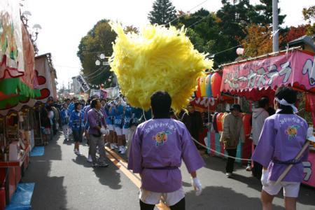 羽黒山神社梵天祭り