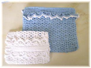 沙織さん編み編みポーチ