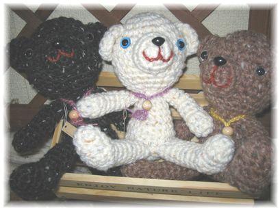 ちいたまさんの編みぐるみ
