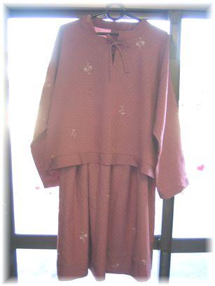 ピンクスーツ7000円
