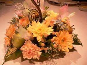 テーブル装花①image