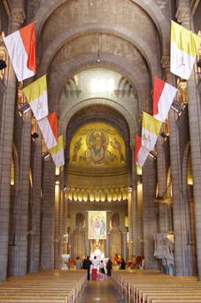 monaco 大聖堂内部