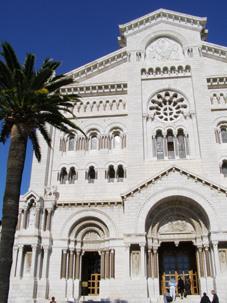 monaco 大聖堂外観