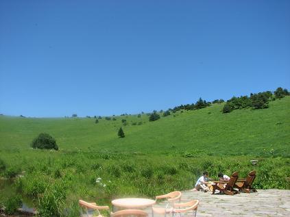 車山 草原