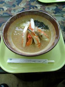 ニセコグランヒラフ 蟹ラーメン