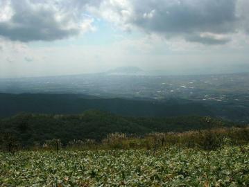 七飯岳より