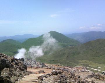 恵山からの景色