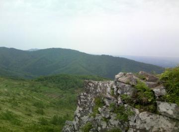 七飯岳~岩場