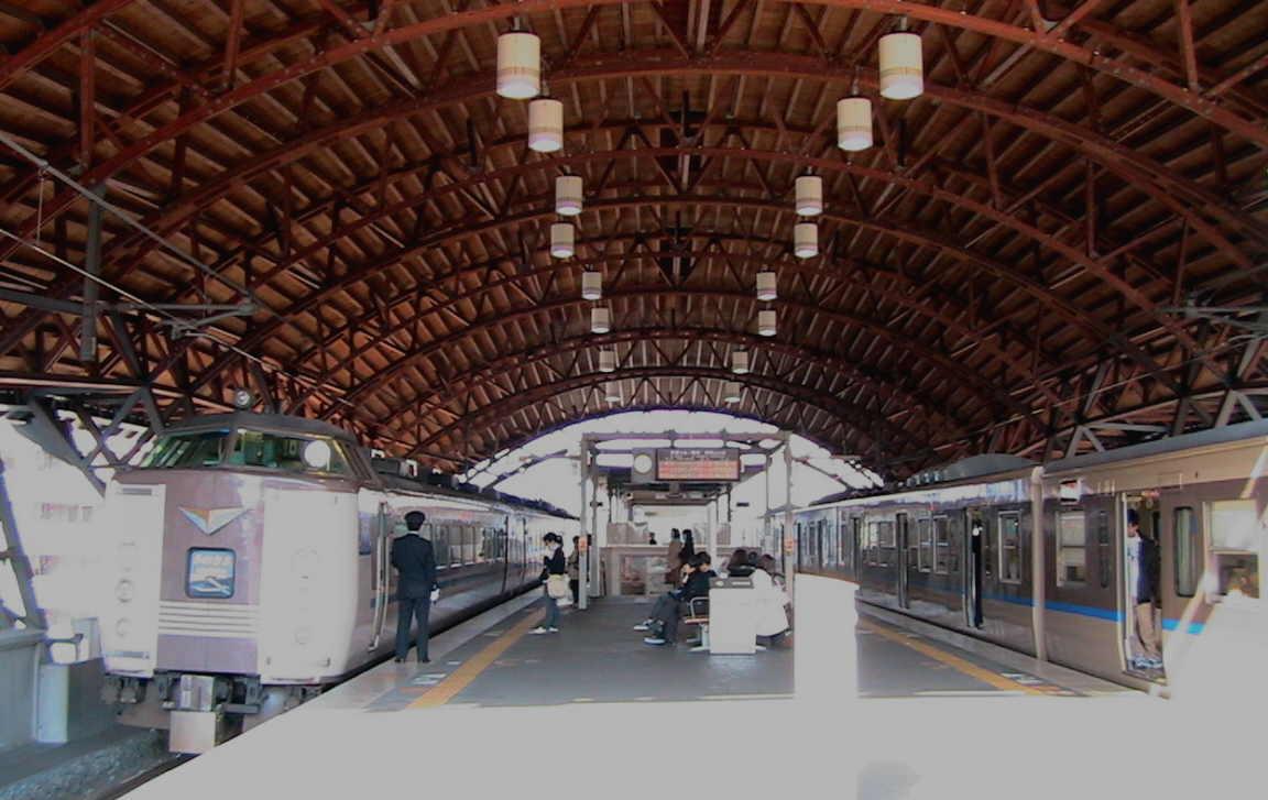 二条駅(JR) : ぶらっとめぐり...