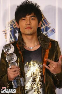 第八届CCTV-MTV音楽盛典 亞洲地区傑出芸人獎受賞