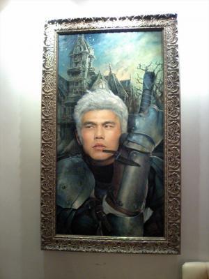 Mr.J肖像画