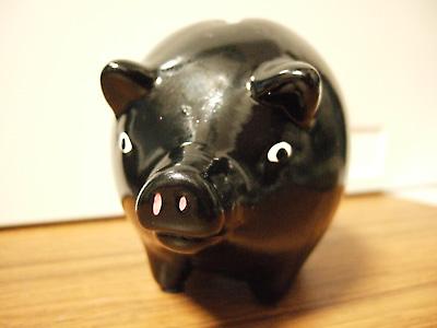 黒豚貯金箱