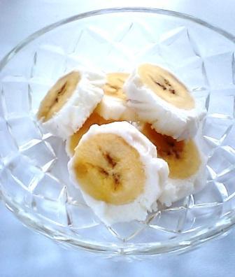 変わりバナナアイス