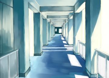 廊下の背景