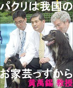 パクリは我国のお家芸 韓国黄禹錫教授