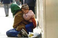 9上海街道上的乞討者1