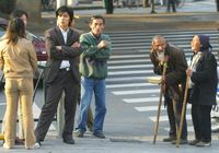 10上海街道上的乞討者2