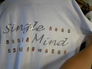 Signle MindTシャツ?
