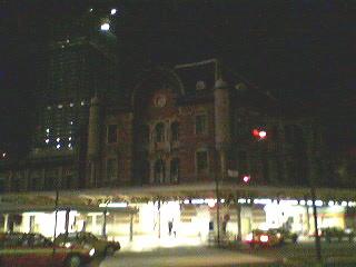 東京駅・・・ちょっと寂しかった^^;