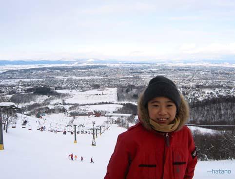 2007初滑り1月4日/サンタプレゼントパーク