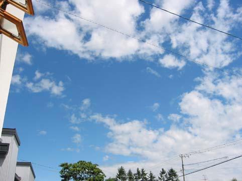 5月31日の空