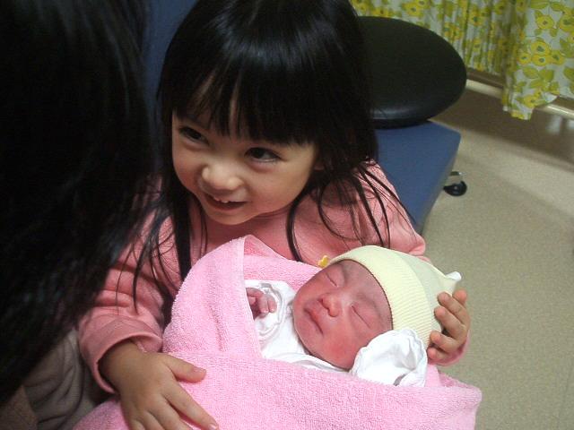 モエチンと赤ちゃん