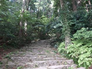 滝への道5