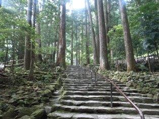 滝への道9