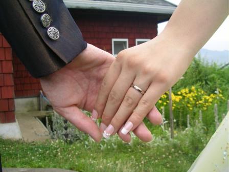 手と手の深い誓い