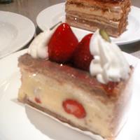 ニューオータニのケーキの写真1